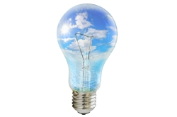 Lightbulb-with-sky-inside