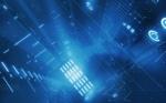 Matrix Blue wallpaper